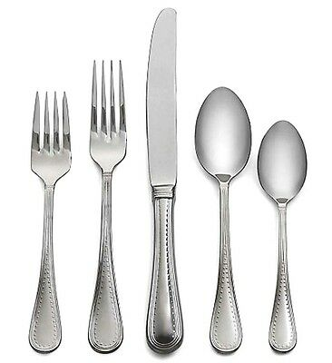 Vera Wang Wedgwood Stainless Grosgrain 5 Piece Place Setting Flatware New In Box 68 90 Picclick
