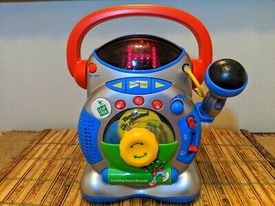 Leapfrog Learning Screen Karaoke, with Microphone, Fun Learning Toy! WORKS WELL!