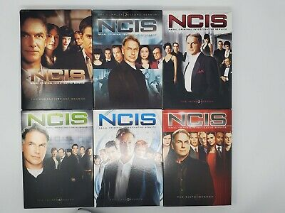 NCIS Lot DVD Seasons 1-6 Complete Naval Criminal Investigative Service CBS