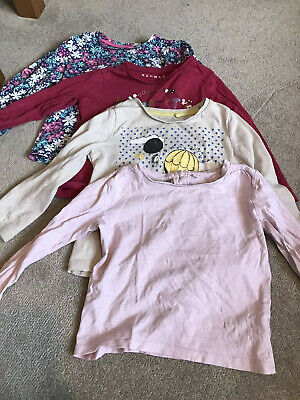 Next & Other Brands Baby Girls Long Sleeved Top Bundle 18-24 Months