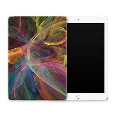 Fractal Frenzy Premium Vinyl Skin Sticker Decal to Cover Back and Sides of iPad