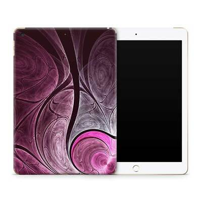 Summer Fractal Premium Vinyl Skin Sticker Decal to Cover Back and Sides of iPad