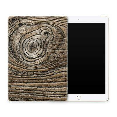Vintage Knotted Wood Vinyl Skin Sticker Decal to Cover Back and Sides of iPad