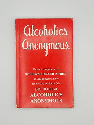 Alcoholics Anonymous Paperbk First Edition 25 Personal Stories Big Book 1939 AA