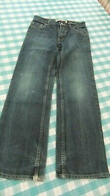 Boys dark blue jeans age 12 years from Gap kids elasticated adjustable waist