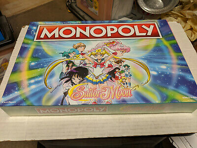 Monopoly Sailor Moon Board Game NEW SEALED