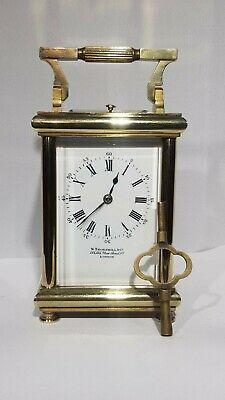Antique Carriage clock repeater by Drocourt N°22512