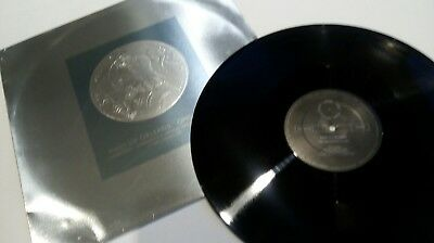 """Orchestral Manoeuvres In The Dark 12"""" Vinyl Record 'Maid Of Orleans' Coin Cover"""