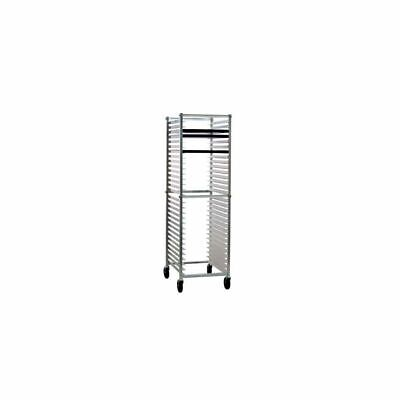 New Age Industrial 6300 Aluminum 30 Pan Rack with Angled Guides