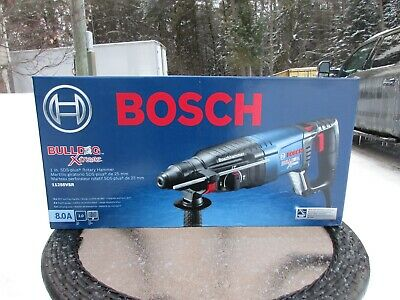 "New Bosch 11255VSR 1"" SDS-Plus Bulldog Xtreme Rotary Hammer Drill"