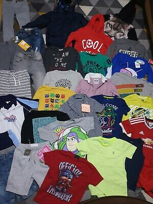 Huge Bundle Of Boys Clothes 4-5years #812 NEXT GEORGE ZARA PEPPA ADIDAS TOY STOR