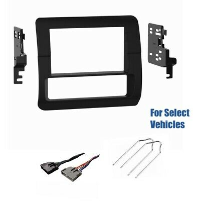 Double Din Stereo Radio Dash Car Kit Combo w//Remove Tool for some Ford Focus etc