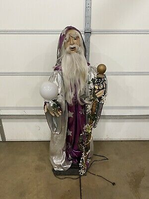Creegan Animated Wizard Store Front Display Vintage Steubenville