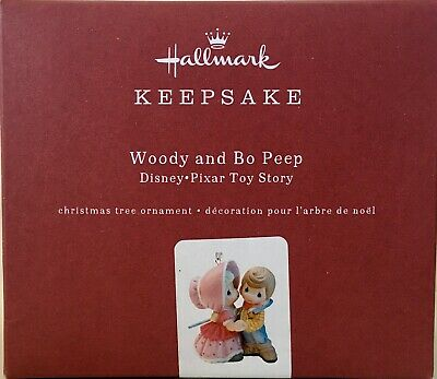 WOODY and BO PEEP Disney Pixar Toy Story Hallmark Precious Moments Ornament 2019