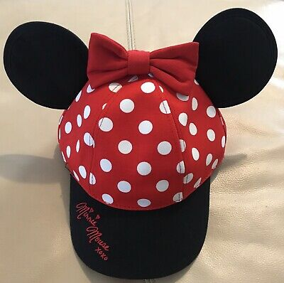 New Disney Parks Minnie Mouse Cap Hat Youth Size Walt Disney World