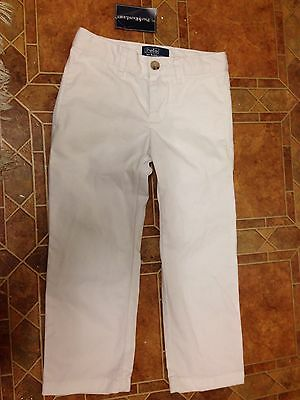 RALPH LAUREN white Jeans Age 3t TODDLERS BNWT RRP £80