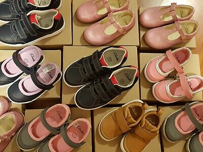 Childrens Clarks shoes for Boys Girls UK infant sizes FREE P&P