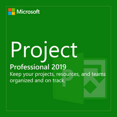 MS Project Professional 2019 Pro Key Life Time License Product Key & UPDATE