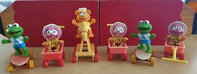 Vintage McDonald's Muppet Babies Figures happy meal 1986 vintage toy 80's