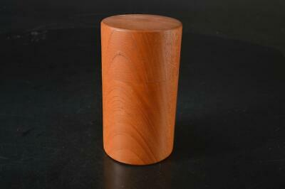 A6539: Japanese Wooden TEA CADDY Chaire Container Tea Ceremony