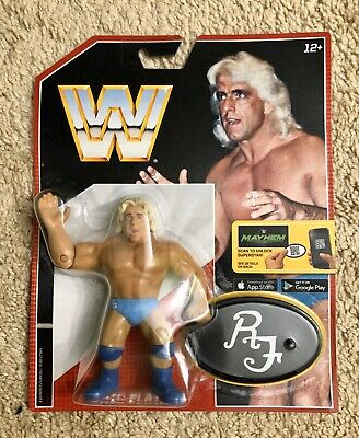 """Mattel WWE Retro Series  2 The Rock Action Figure 2017 4.5/"""" New in Package"""