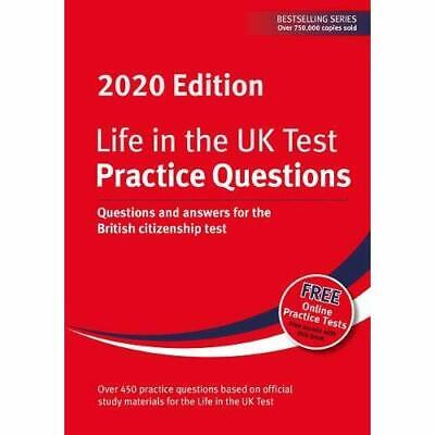 Life in the UK Test: Practice Questions 2020: Questions - Paperback / softback N