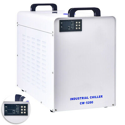 9L Industrial Water Chiller CW-5200 for CNC/ Laser Engraver Engraving Machines