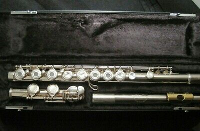Armstrong Sterling Silver Flute with Gold Plated Lip-plate