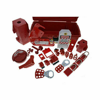Ideal 44-974 Industrial Lockout Tagout Kit OSHA Required