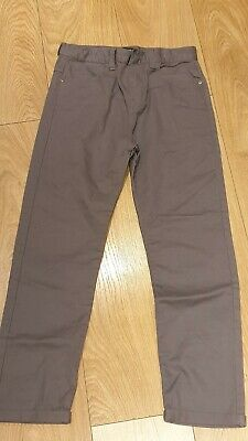 BN Primark Boys Grey Straight Jeans Age 12 Years