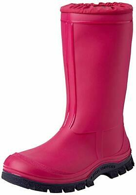 Start-Rite Girls Mudbuster Pink/Black warm lined Wellie/Rain Boots 3.5 UK  (36)