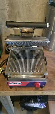 (USED) Professional Panini Grill, Press, 9 Sandwiches, ETL Listed, SASE