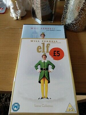 ELF DVD with slip cover Will Farrell