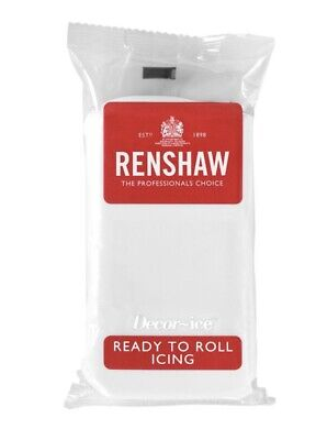 Renshaw White 500g fondant Sugarpaste icing Ready To Roll