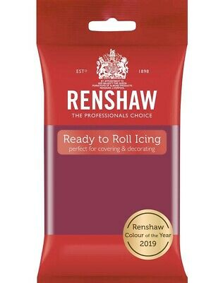 Renshaw Cassis 250g fondant Sugarpaste icing Ready To Roll