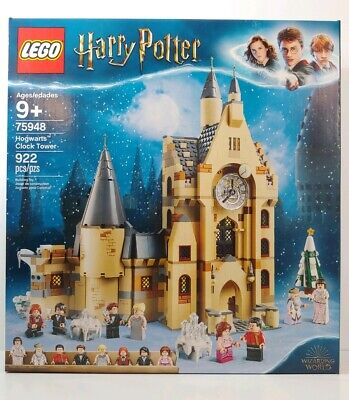 NEW LEGO Harry Potter Hogwarts Clock Tower #75948 Box In Excellent Condition