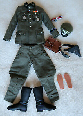 "DiD Dragon In Dream 1:6 Scale WW2 German Jakob Grmminger hands+glove for 12/"" fig"