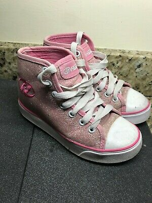 Heelys Girls size 13 pink used condition