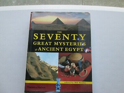 Seventy Great Mysteries Of Ancient Egypt Pyramids Tombs History Free Shipping Us