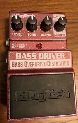 Digitech XBD Bass Driver Guitar Effect Pedal