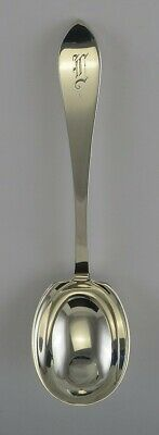 """Antique c1930 Sterling Silver Tiffany & Co Faneuil Small Serving Spoon 5 3/4"""""""