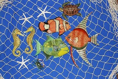 (11) Coral Reef Netscape Wall Hanging Collection Reef Harbor