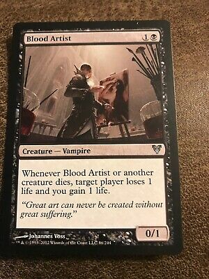 1x English MTG Avacyn Restored Blood Artist NM