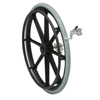 Shower Commode Self Propel Kit - 24'' Quick Release Wheels, Includes Brakes