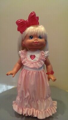 PJ Sparkles Doll Mattel 1988 - Great Condition, Tested & Works Great - No Shoes