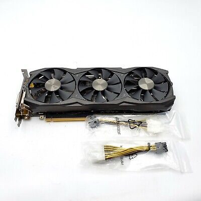 ZOTAC GeForce RTX 2080 AMP 8GB GDDR6 256-bit Gaming Graphics Card -NOT WORKING-