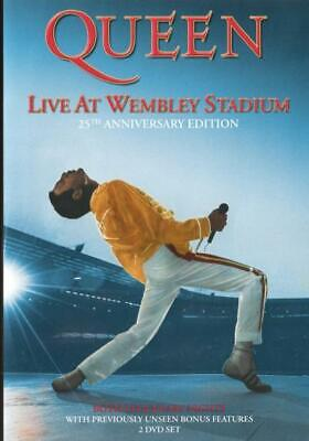 Queen: Live At Wembley Stadium (25Th Anniversary Edition) [New Dvd]