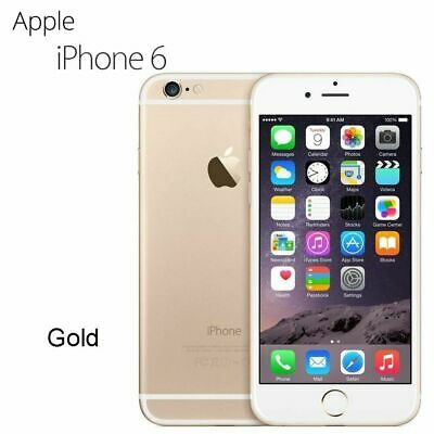 NEW Apple iPhone 6 16GB Gold Factory Unlocked Smartphone - 2 Year WARRANTY