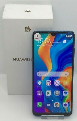 Huawei P30 Lite on Vodafone 128GB Model MAR-LX1A in Blue Boxed