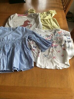 NEXT JOULES AND DEBENHAMS girls bundle of clothes aged 7